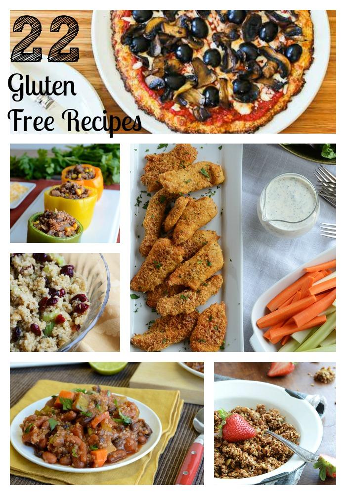 gluten free collage