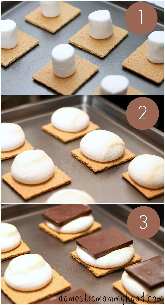 Smores in the Oven: As Good as Campfire Smores but Without the Bugs ...