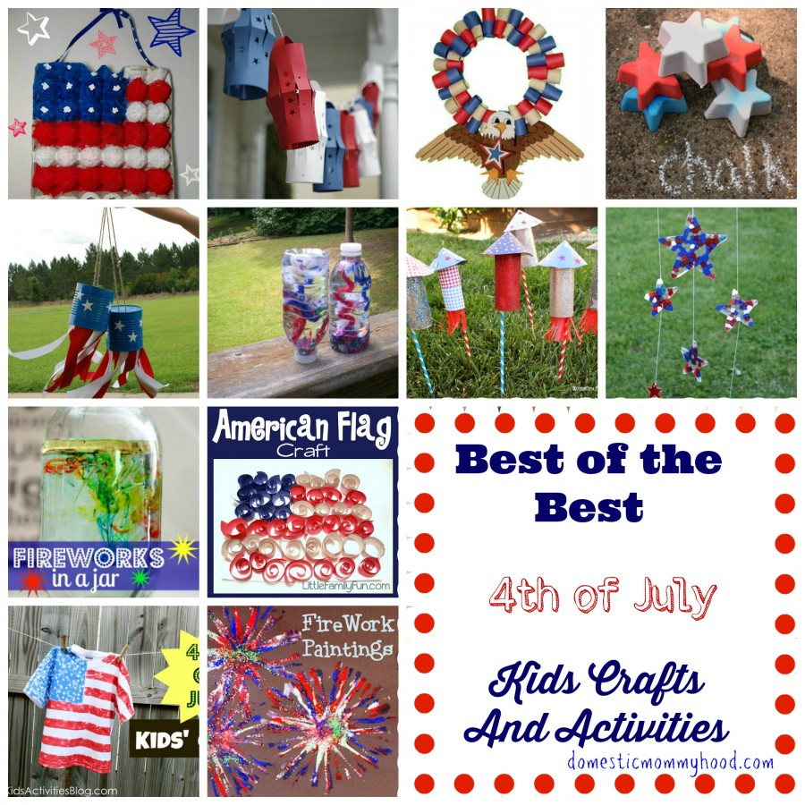 20 4th Of July Kids Crafts And Activities
