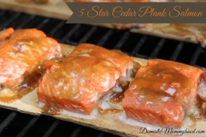 5 Star Grilled Cedar Plank Salmon the Perfect Summer Recipe
