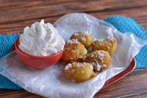 Funnel Cake Bites Recipe