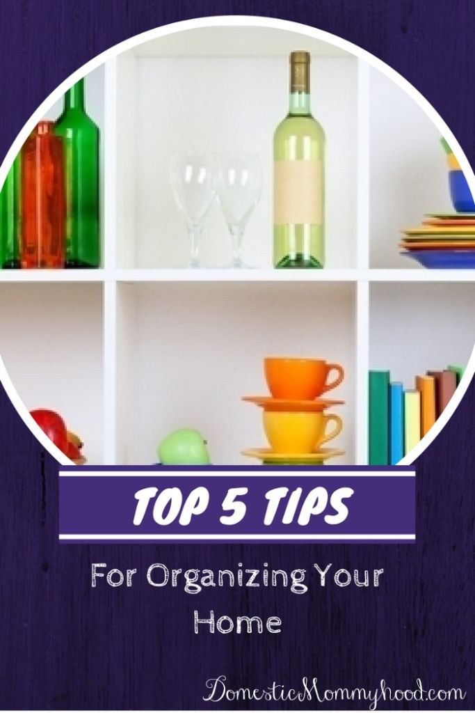 organizing your home