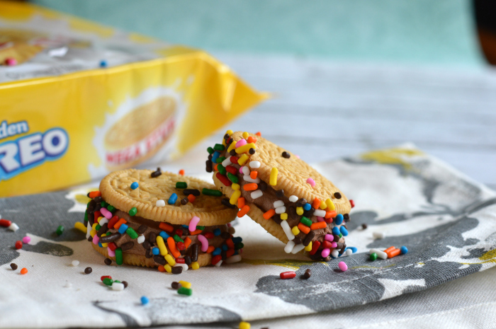 golden oreo treats