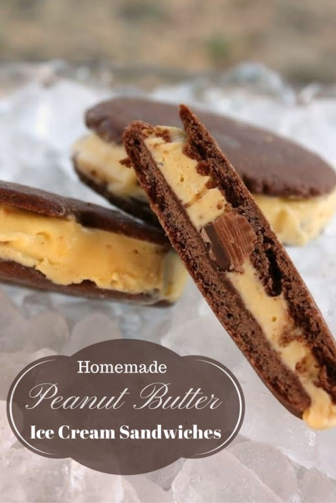 peanut butter ice cream sandwich