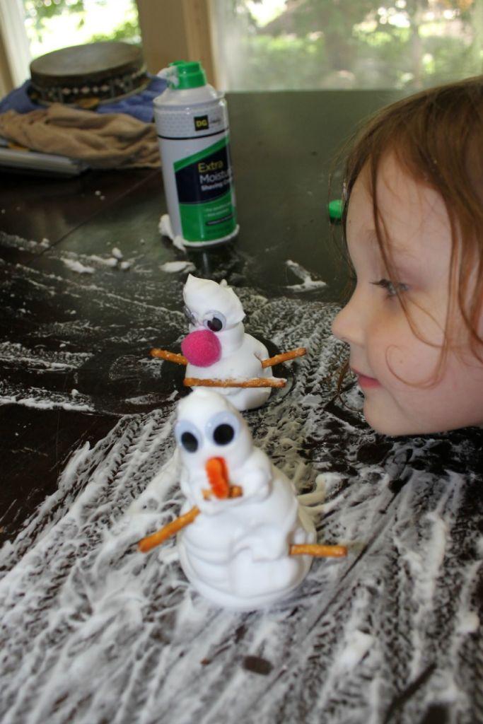 summertime snowman