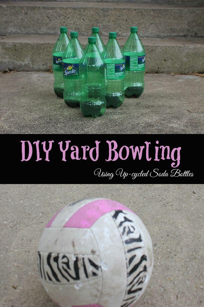 diy yard bowling