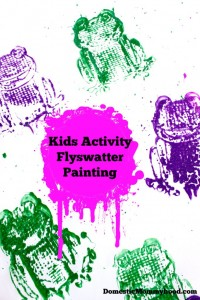 Kids Activity: Flyswatter Painting