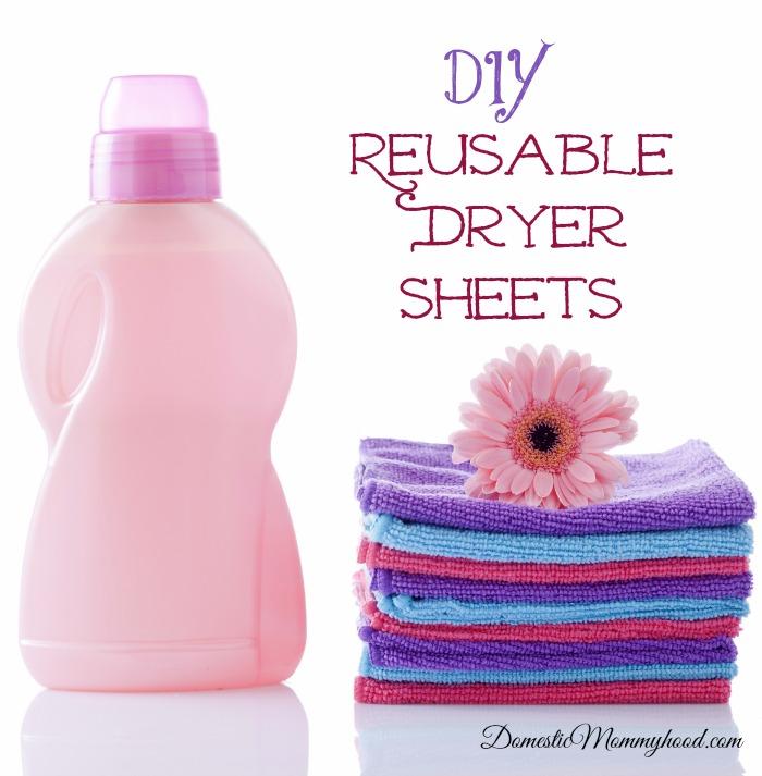 diy reusable dryer sheets