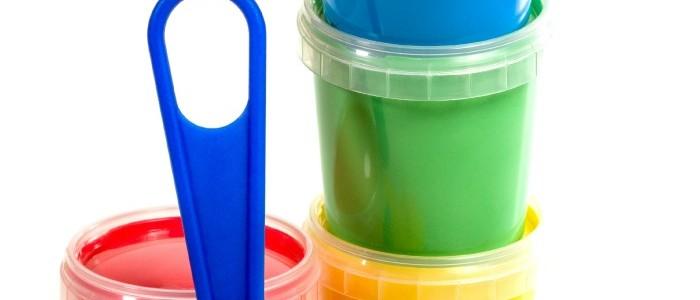 2 Ingredient Edible DIY Kids Paint Recipe