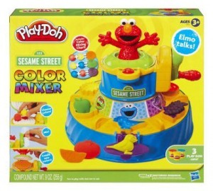 play doh elmo color mixer