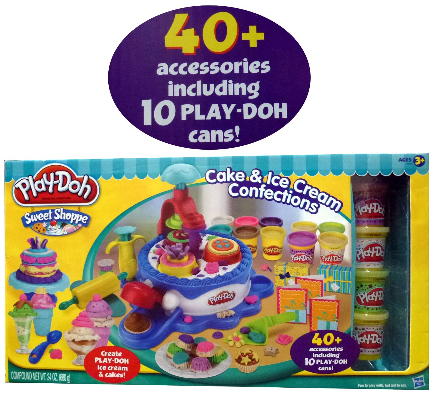 Play Doh Cake And Ice Cream Set