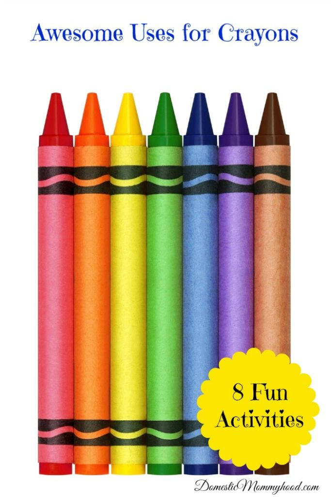 uses for crayons