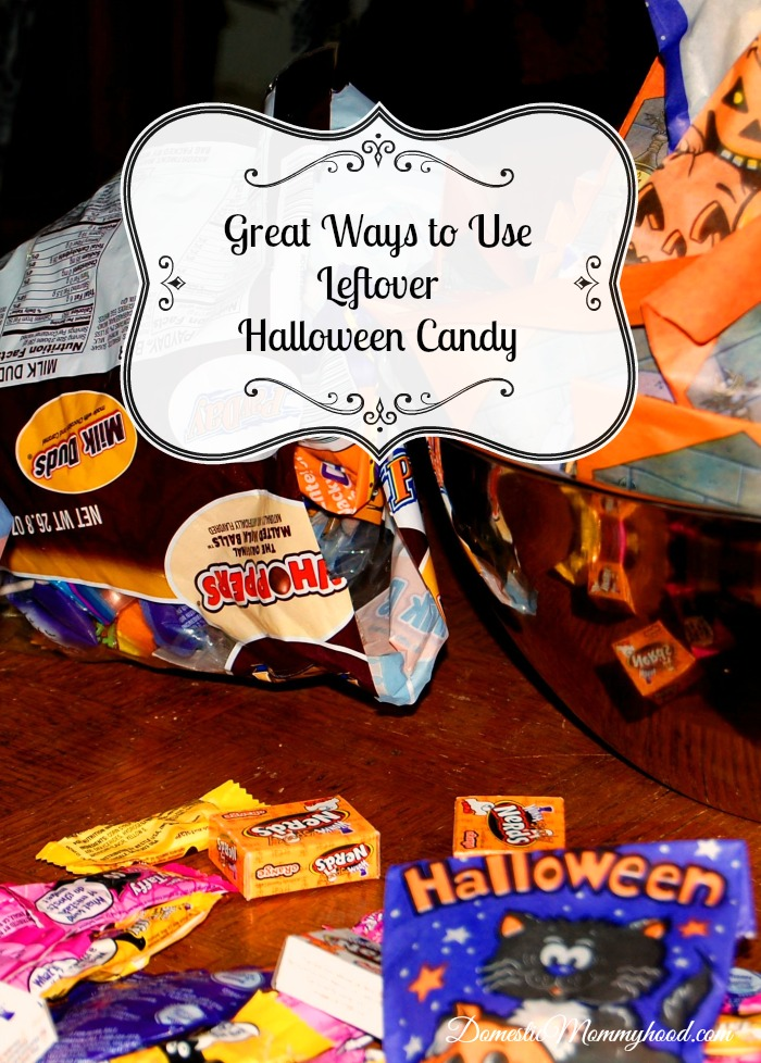 great ways to use leftover halloween candy