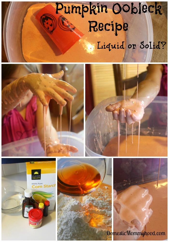 pumpkin oobleck recipe