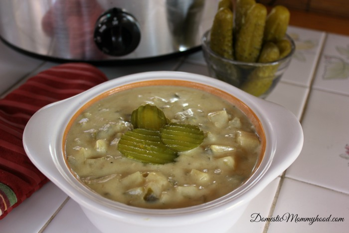 crockpot pickle soup
