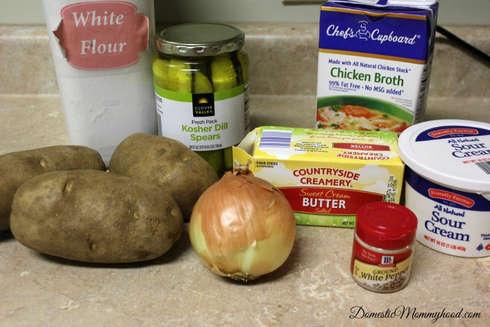 crockpot pickle soup