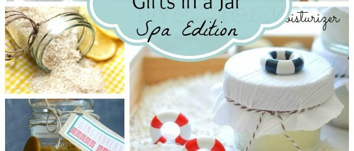 25 DIY Gifts in a Jar (Spa Edition)