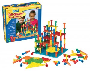 tall stcker building set