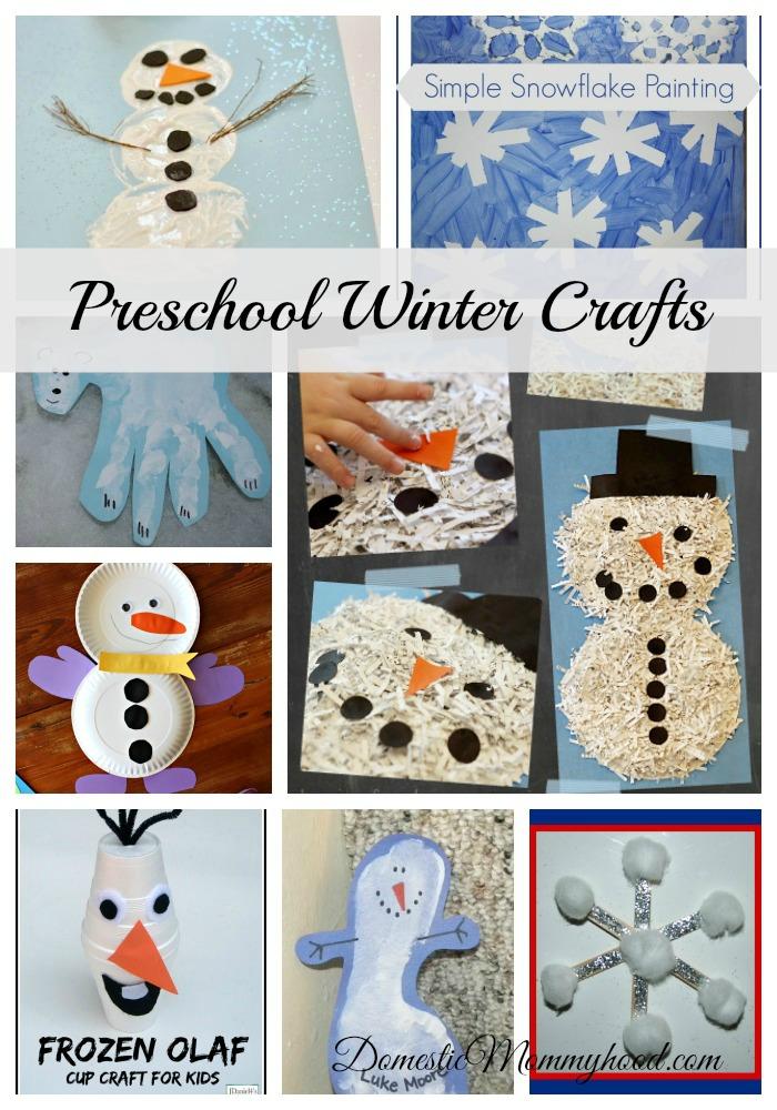 easy preschool winter crafts preschool winter crafts domestic mommyhood 162