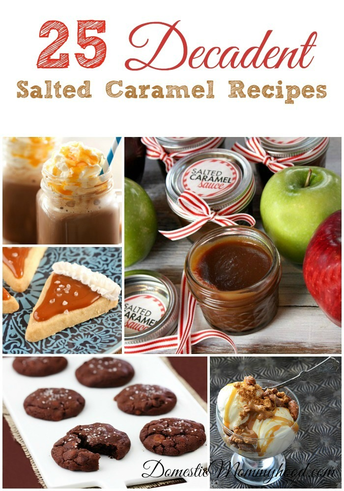 Salted Caramel Recipes