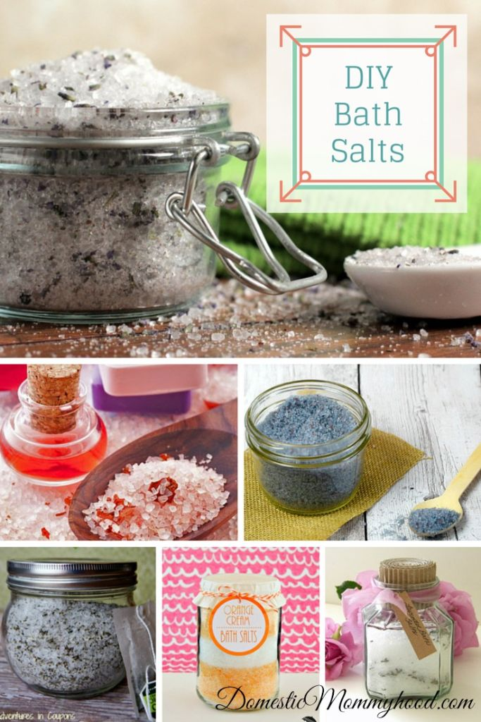 10 Luxurious DIY Bath Salts