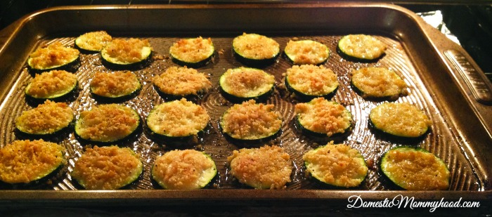 Baked Zucchini In Process 5