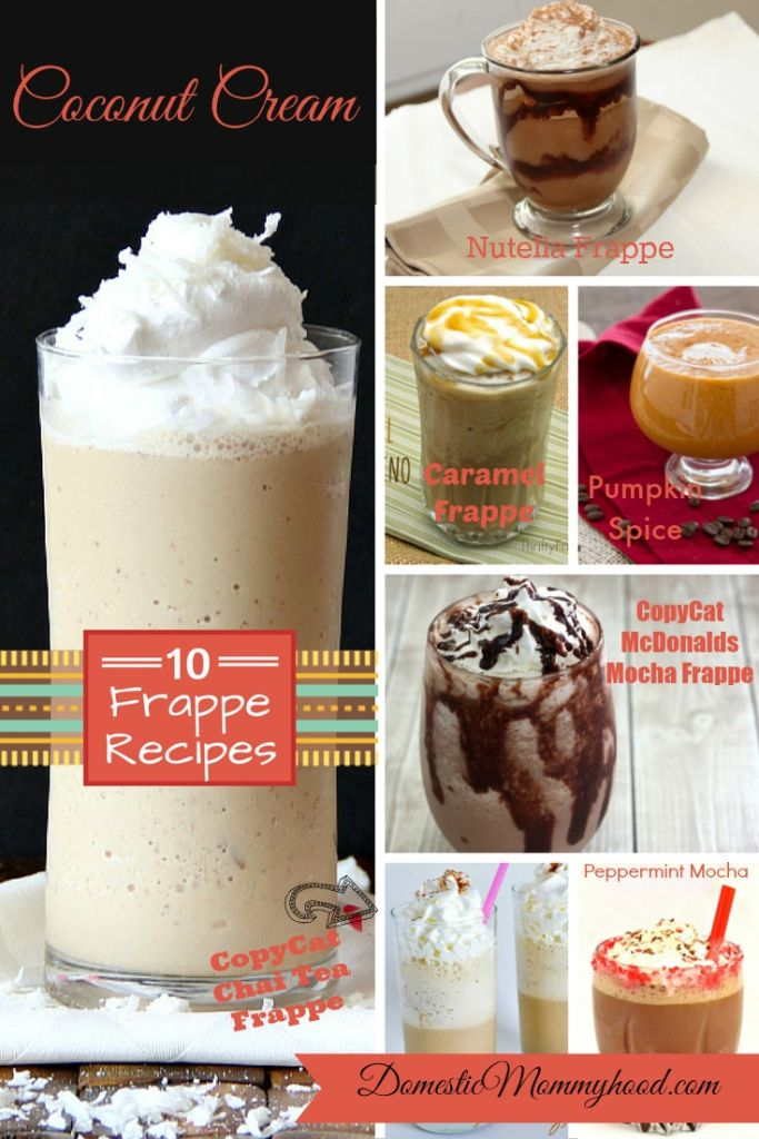 DIY Frappe Recipes