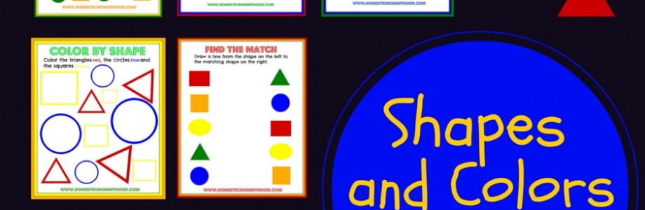 Shape and Color Printables