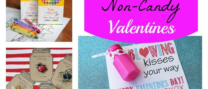 FREE Printable Non-Candy Valentines