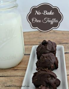 no bake dessert oreo truffles