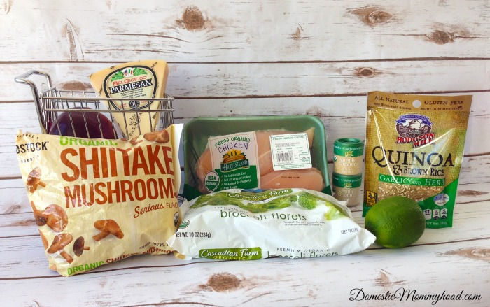 Organic Chicken & Quinoa Salad
