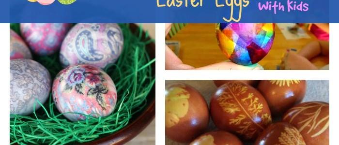 Interesting Ways to Dye Easter Eggs