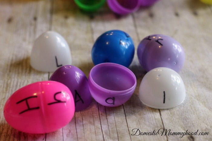 Alphabet Match Easter Egg Activity