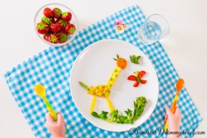 How to Get Picky Eaters Excited About Vegetables pretty plate
