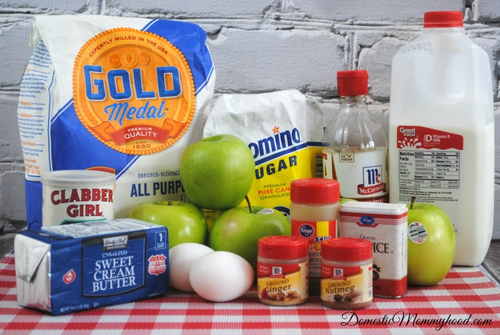Irish Apple Cake Ingredients