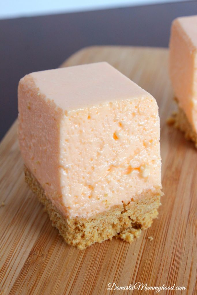 Orange Creamsicle Squares