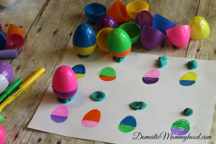 Patterning Easter Egg Activity for Kids