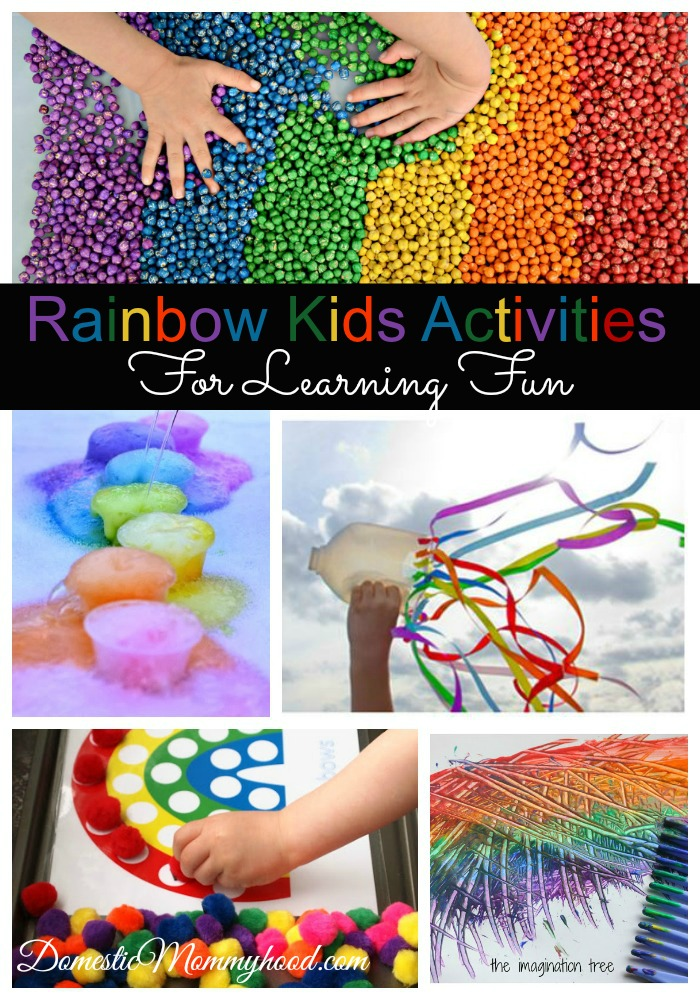 rainbow kids activities for learning fun