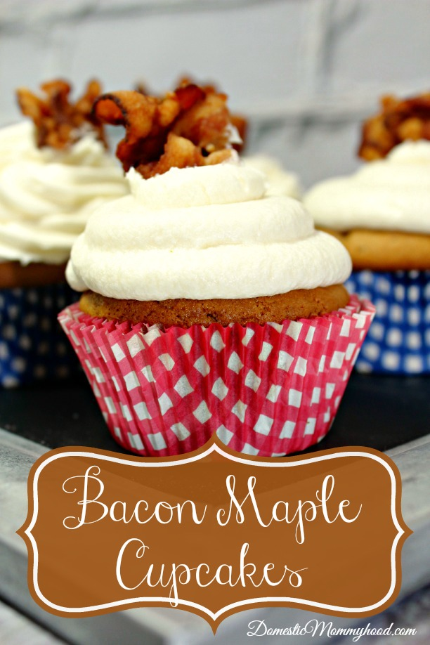 Scrumptious Maple Bacon Cupcakes
