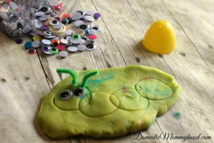 stamping easter egg craft for kids