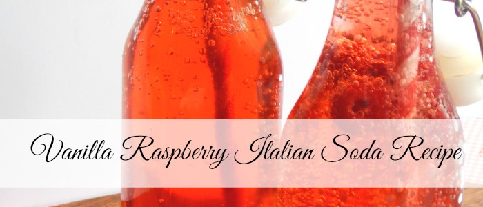 Vanilla Raspberry Italian Soda Recipe (Great Summer Treat for the Kids)