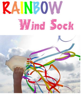 wind sock rainbow kids activities great for learning