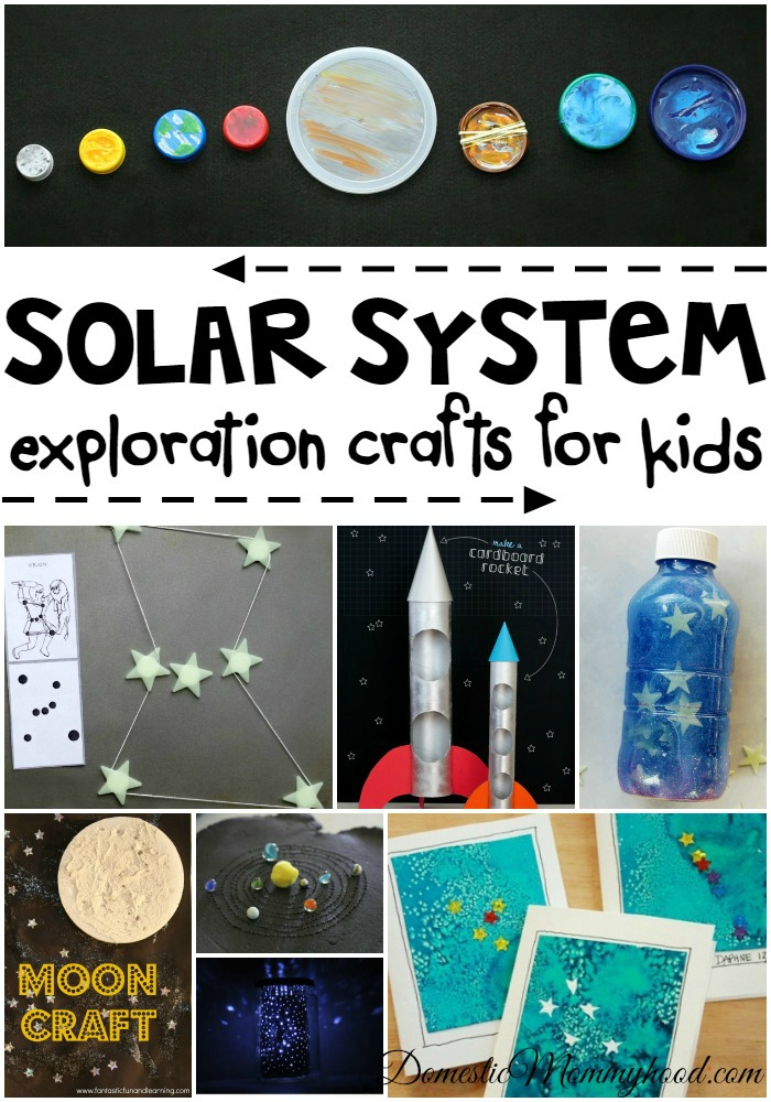 Solar System Crafts For Kids Domestic Mommyhood