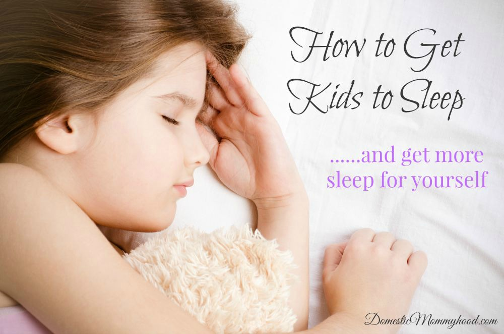how to get kids to sleep