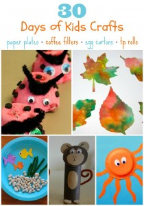 30 days of kids crafts