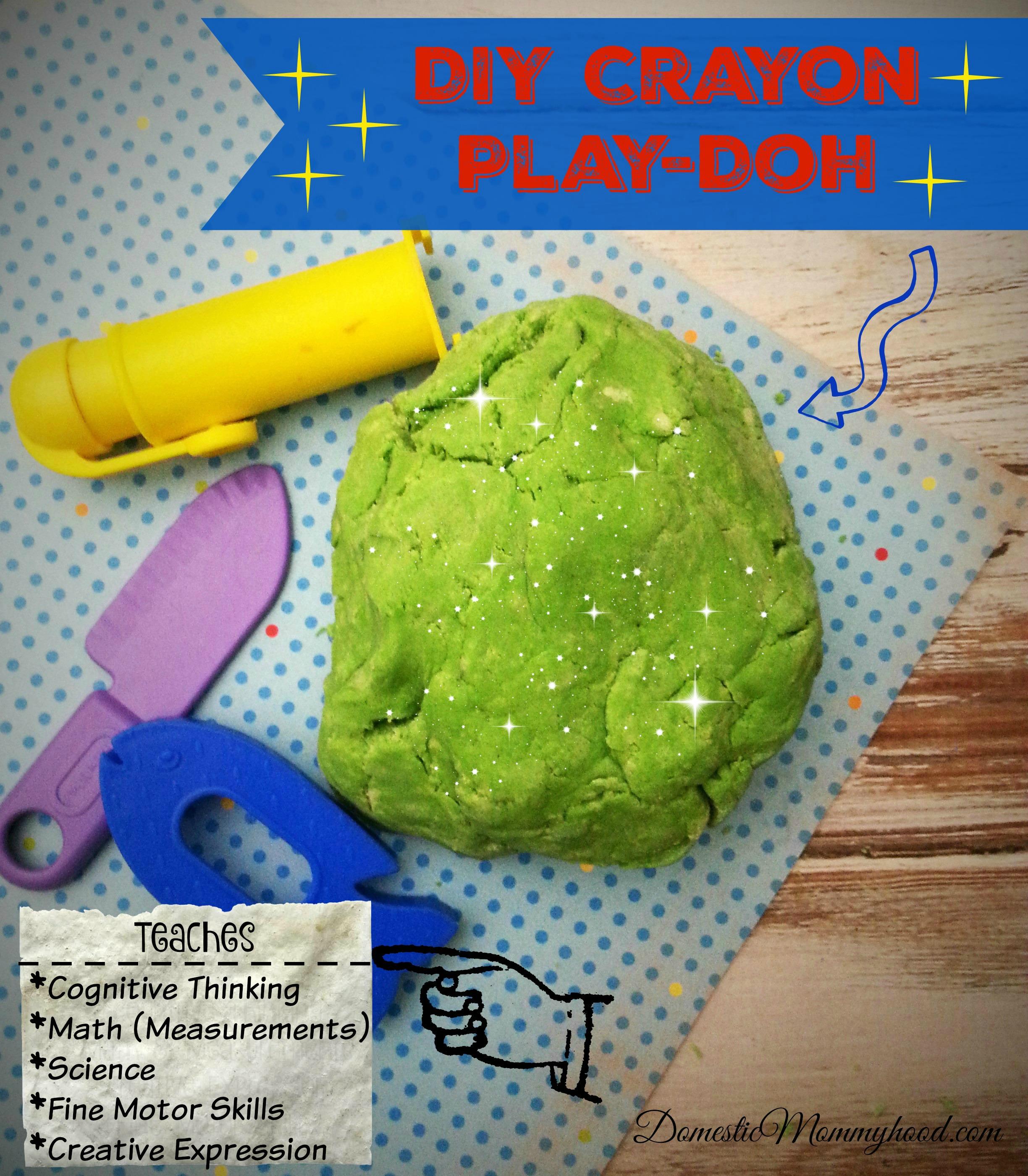DIY Crayon Play-Doh