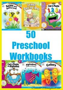 Top 50 Preschool Workbooks for Learning Fun