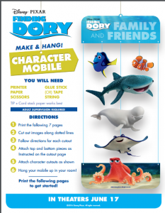 Finding Dory's New Meet the a-Dory-ble BABY Dory in This Awesome New Trailer! + Printable #findingdori Mobile