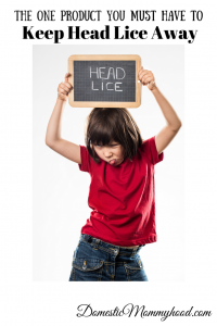 The One Product You MUST HAVE to Keep Head Lice Away