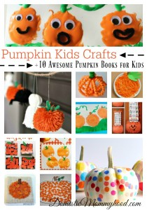 Pumpkin Kids Crafts! Great for Fall, Halloween and Thanksgiving!